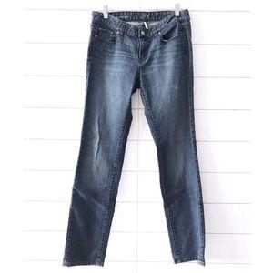 LOFT Blue Denim Modern Straight Leg Jeans